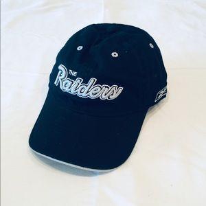 Oakland Raiders Dad Style hat by Reebok.